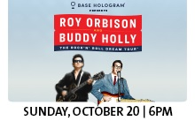 ROY ORBISON & BUDDY HOLLY - ROCK 'N' ROLL DREAM TOUR